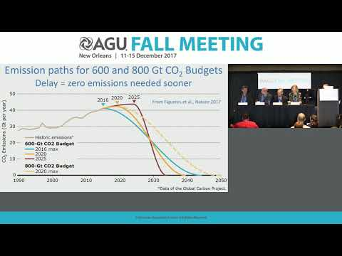 2017 Fall Meeting Press Conference: Climate solutions