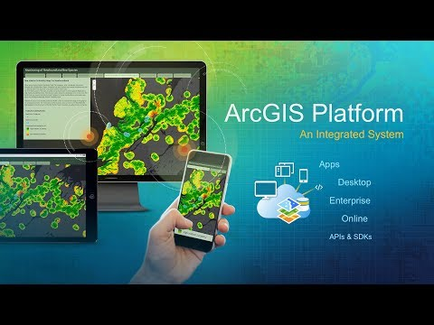 Esri UC 2017: ArcGIS Products—An Integrated System