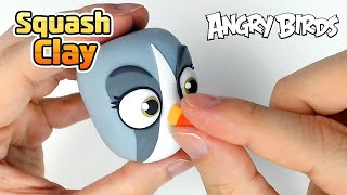 Squash Clay Makes Angry Birds SILVER