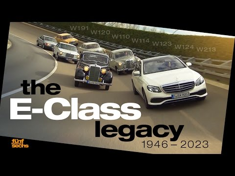 Mercedes E-Class Legacy: Testdriving 7 Generations of Daimler's most important Model (German)