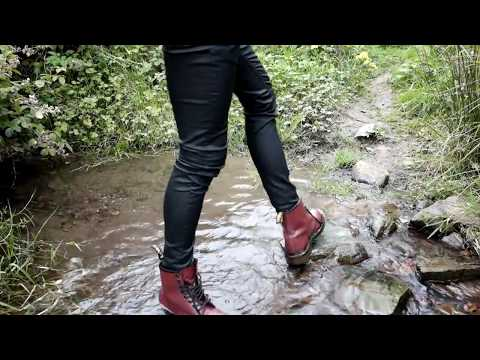 9f37d9cd6941 Muddy Dr Martens 1460 by creative333