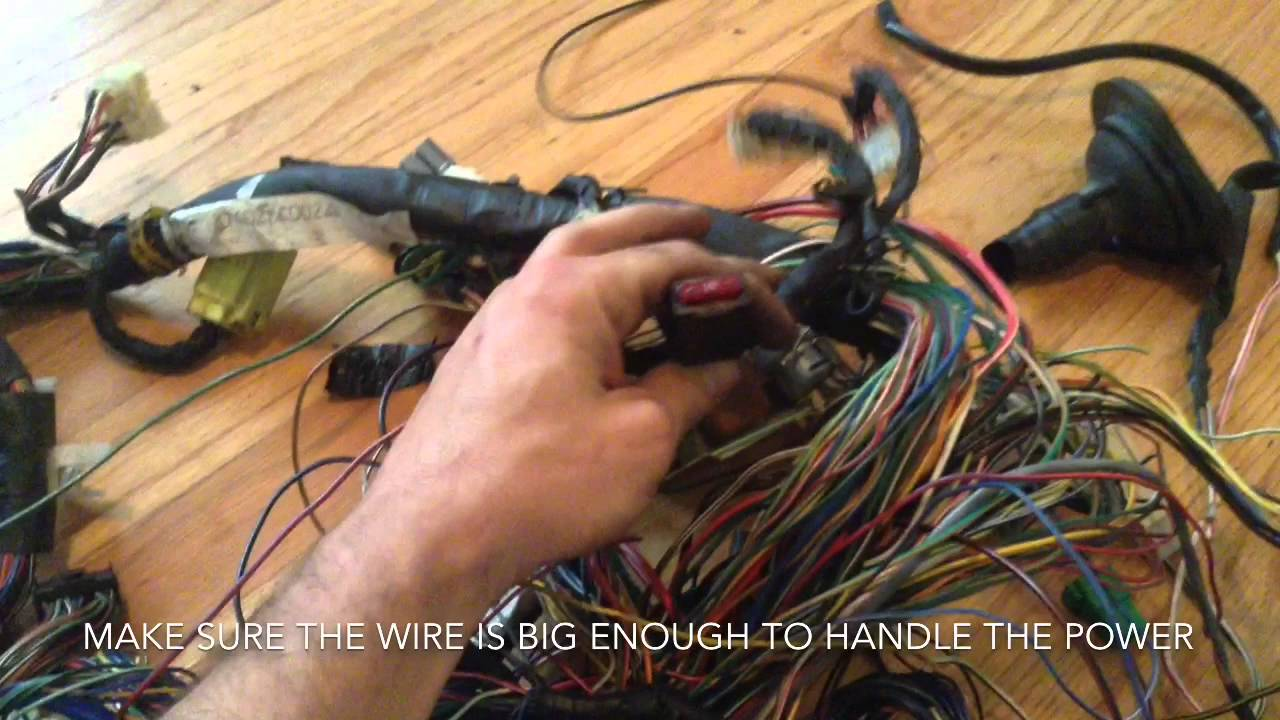 maxresdefault subaru to vw swap obd2 harness part 2 youtube subaru standalone wiring harness at bayanpartner.co