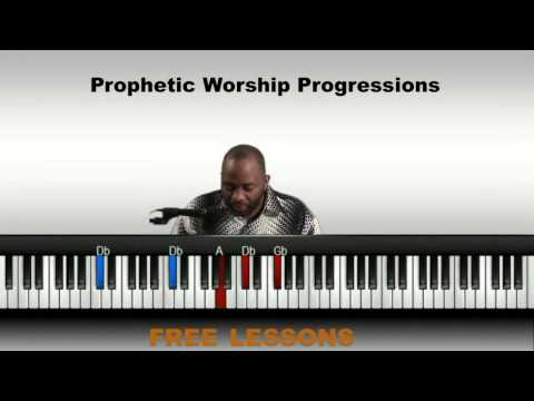 worship Chord progressions/ Gospel piano lesson