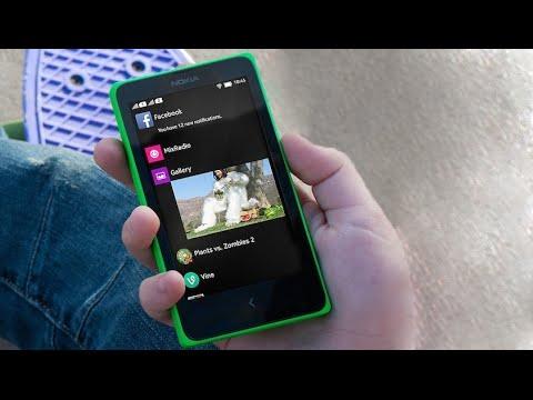 OnePlus One Stock Cyanogenmod 12s Lollipop Rom Install in Nokia X X+ XL  Nokia X2