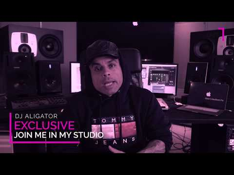 Dj Aligator - Join me in my Studio. (Part 2)