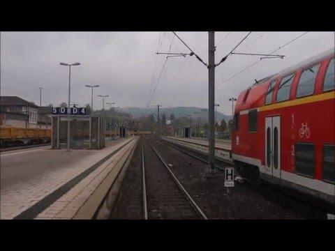 Führerstandsmitfahrt im Ringzug von Rottweil bis Bräunlingen