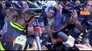 Davide Nicola mantiene la promessa: da Crotone a Torino in bici