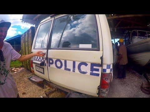 HUSTLING with POLICE!! Remote Santa Cruz Islands - Sailing Nandji, Ep 62