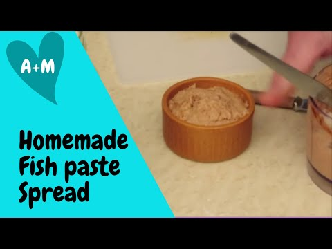 Homemade Fish Paste Spread