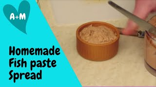 Homemade Fish Paste Spread