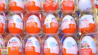Киндер Сюрпризы 2002 года, открываем старые яйца киндер (Rare Kinder Surprise)