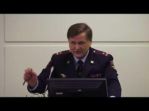 Доклад начальника УВД по СВАО В.Е.Петрунина на координационном совете округа