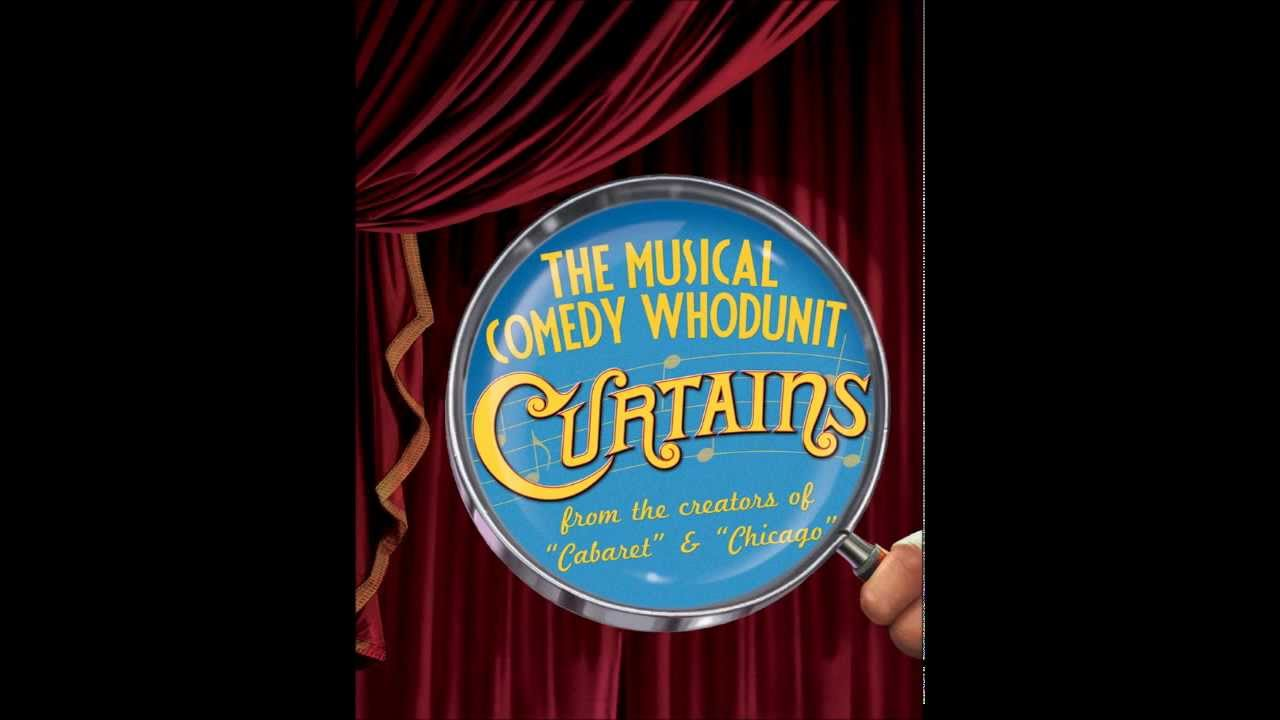 Curtains the musical logo - Demo Backing Track Thataway From Curtains The Musical