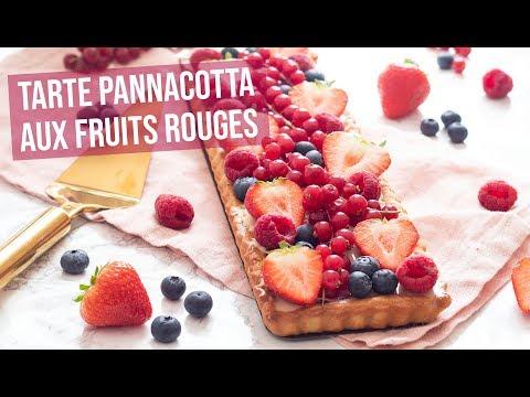 recette-|-tarte-pannacotta-aux-fruits-rouges