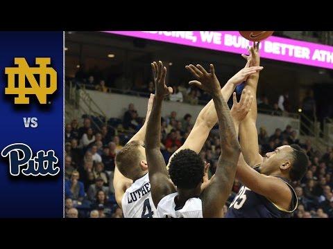 Notre Dame vs. Pitt Men