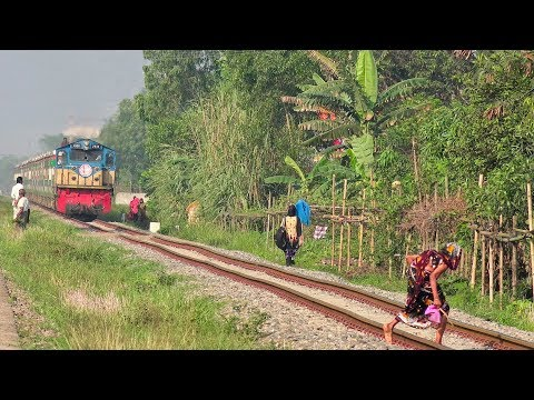 Sonar Bangla Express- High Speed Train of Bangladesh Railway (Non stop Dhaka to Chittagong)