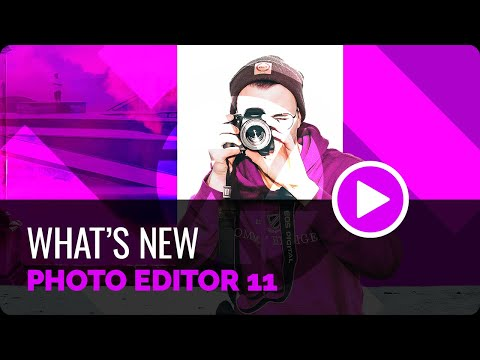 What's New - Photo Editor 11
