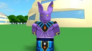 WE GOT A PROBLEM | Beerus God of Destrucion | Dragon Ball Z Advanced Battles in Roblox | iBeMaine