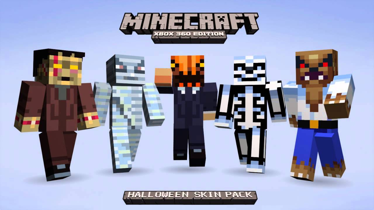 minecraft xbox 360 all skins halloween skin pack - Halloween Xbox 360