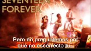 Seventeen Forever - Metro Station Español/Spanish