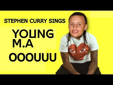 Stephen Curry Singing OOOUUU By Young M.A Music...