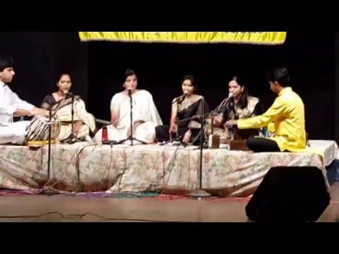 Ashwinitai Bhide 's Disciples Performing Raag Bahar