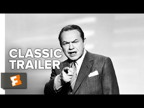 Illegal (1955) Official Trailer - Edward G. Robinson, Nina Foch Film Noir Movie HD