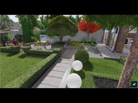 Ландшафтный дизайн.   Проект участка 15 соток  Январь 2020