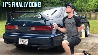 The Paint Is Amazing! - Acura Integra Project Ep. 10