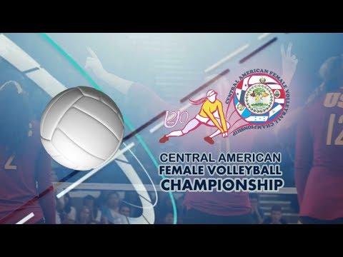 El Salvador vs Nicaragua (U20 Central American Female Volleyball Championship)