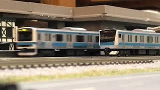 【Nゲージ】 「JR東日本京浜東北線 現在の主力E233系1000番台と同線を駆け抜けたレアキャラ達」 【鉄道模型】