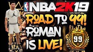 STREAKING MYPARK 😱🔥 BEST PURE SHARP ON NBA 2K19 😤‼️ GRIND TO 9️⃣9️⃣ ‼️