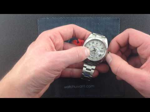 Rolex Oyster Perpetual Sky-Dweller 326939 Luxury Watch Review