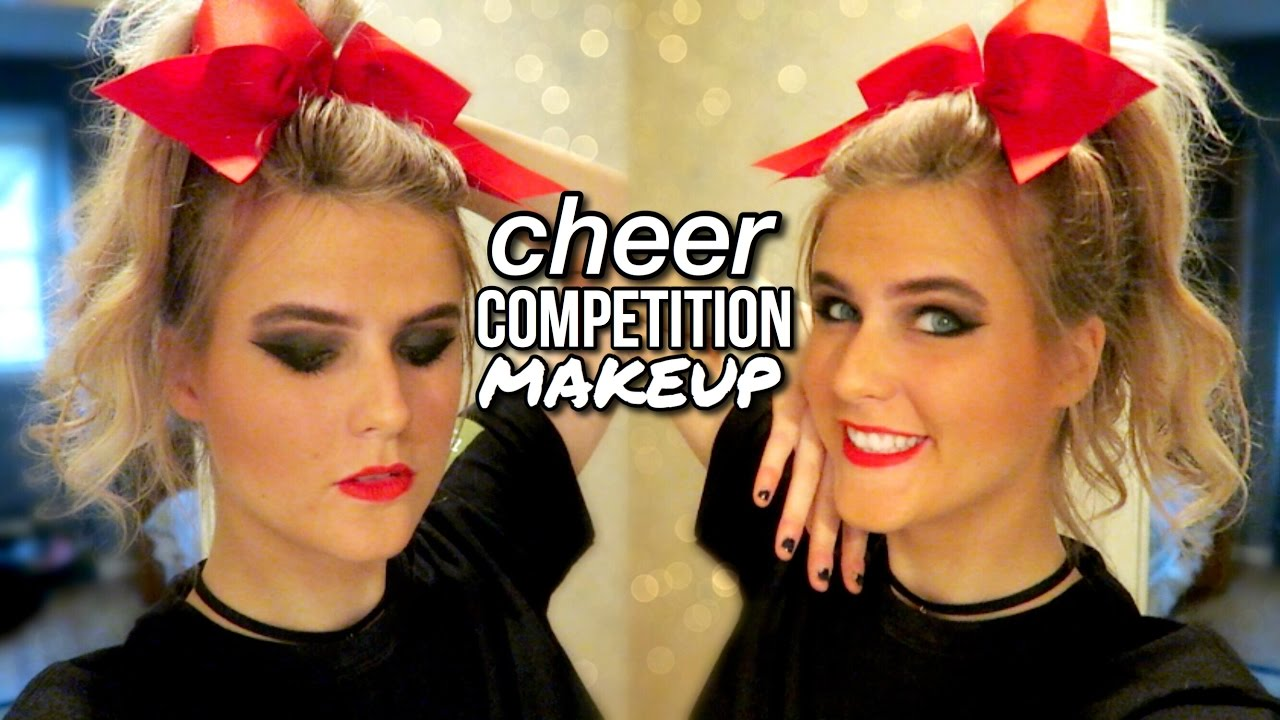 Cheer competition makeup tutorial youtube cheer competition makeup tutorial baditri Image collections