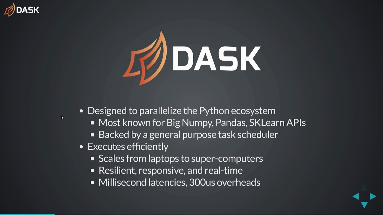 Real Time Processing and Dask