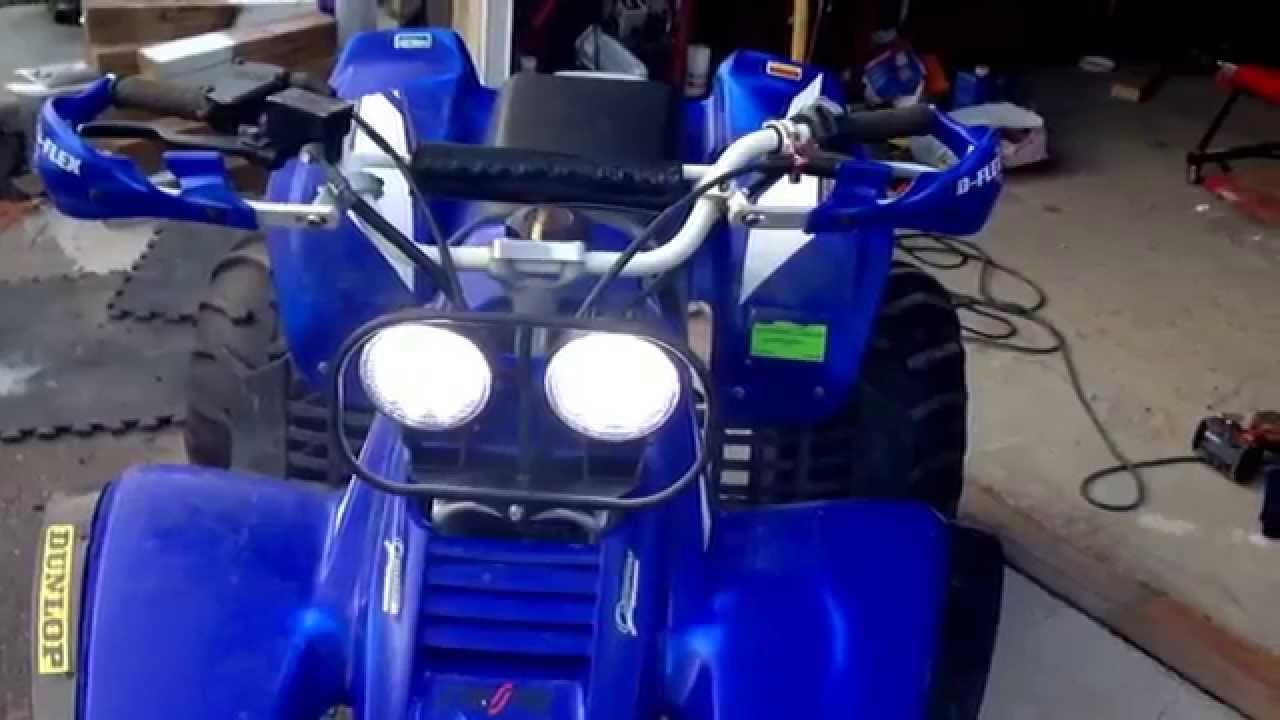 2001 Yamaha Warrior Led Headlight Upgrade Honda Foreman 450 Wiring Diagram