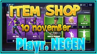 Fortnite ITEM SHOP nederlands (NL) 10 November (NFL SKINS ! NIEUWE EMOTES) – Playr NEGEN