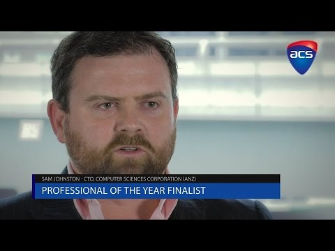 ICT Professional of the Year - Sam Johnston (Computer Sciences Corporation)