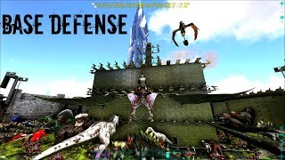 SPIRAL BASE DEFENSE!   Official PVP (E29)   ARK Survival Gameplay