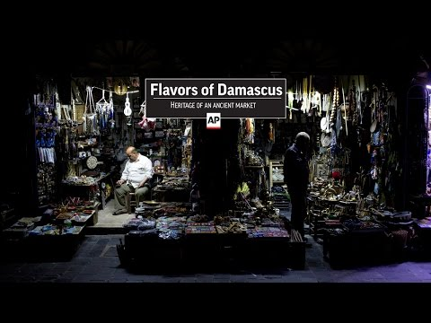 Flavors of Damascus: Heritage of an ancient market