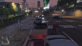 High Speed Police Chase Through Los Santos