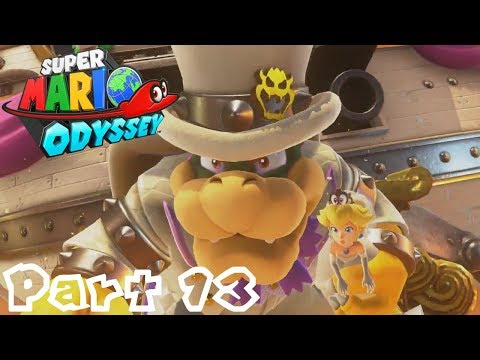 Super Mario Odyssey -- Part 13: Castle Siege! | Bowser's Kingdom