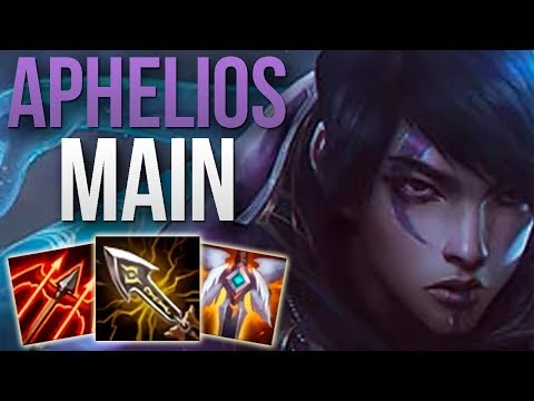 CHALLENGER APHELIOS MAIN GAMEPLAY! | CHALLENGER APHELIOS ADC | Patch 10.3 S10