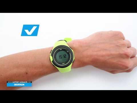 5f22b5e500daf6 SAV DECATHLON ONMOVE 500 - ITALIA -Come posizionare correttamente l'orologio  al polso? - YouTube