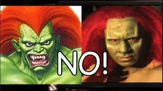 HOW IS THIS BLANKA!? STREET FIGHTER MOVIE [GAME] OSS