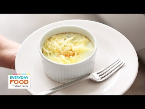 Baked Eggs And Grits - Everyday Food With Sarah Carey