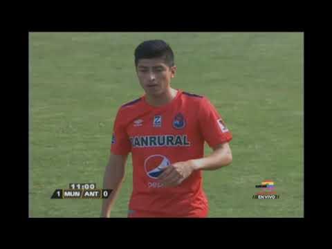 Gol de Municipal ante Antigua GFC - Torneo Clausura 2019