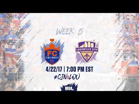 USL LIVE - FC Cincinnati vs Louisville City FC 4/22/17