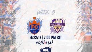 FC Cincinnati vs Louisville City FC full match