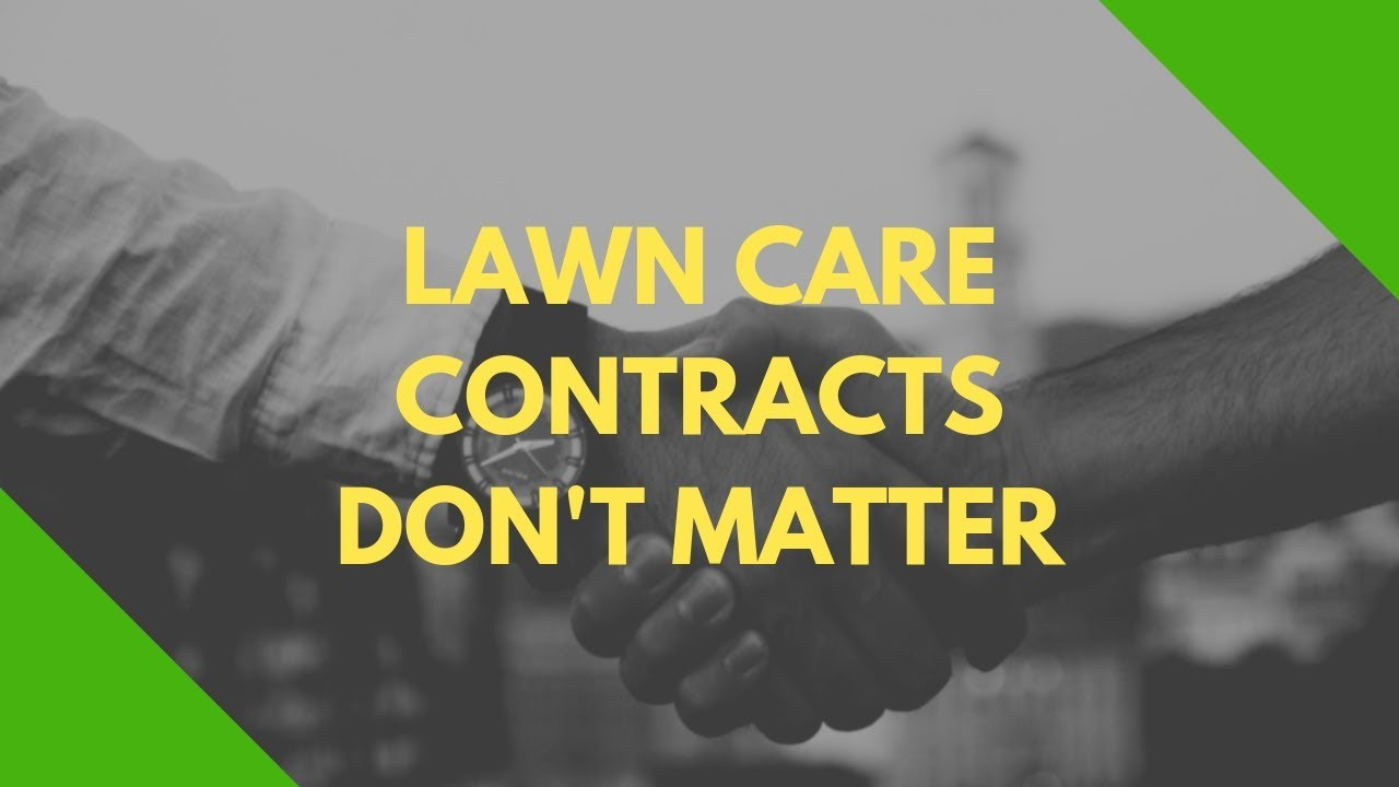 Contracts Archives - Lawn Care Millionaire